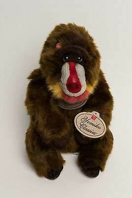 "Russ Yomiko Classics Mandi Mandrill Monkey Babboon Plush Stuffed Toy 13"" Tagged"