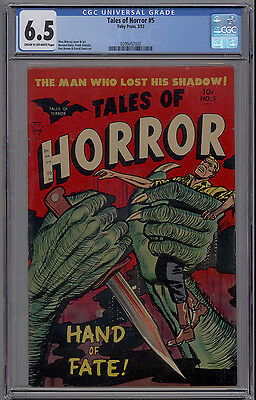 Tales of Horror #5 CGC 6.5 FN+ PCH Classic Pre Code Horror 1953 Toby Press