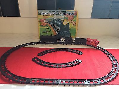 Vintage Battery Operated Toy Train Set