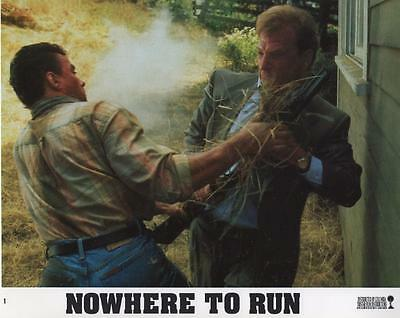 """Nowhere to Run"" vintage movie photo, Jean-Claude VanDamme, 1993"