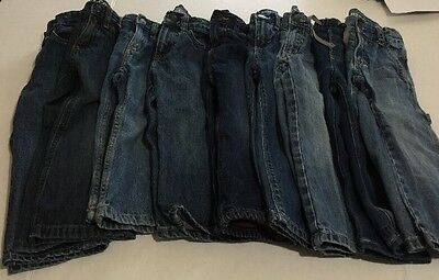 Huge Lot Of Boys Size 2T Jeans/Pants Baby Gap Gymboree Crazy 8 Old Navy