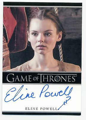 Game of Thrones Season 6 Eline Powell Autograph as Bianca Auto