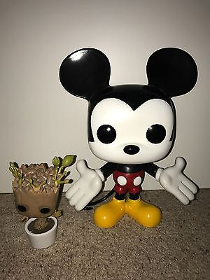 """Mickey Mouse Funko Pop! Vinyl Figure Large 9"""" Tall Rare Vaulted HTF Dinsey"""
