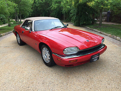 1996 Jaguar XJS 2+2 Convertible 2-Door 1996 Jaguar