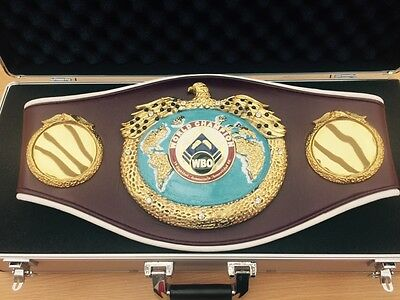 Preorder of WBO World Champion Boxing Belt Most Accurate Replica-JULY DELIVERY