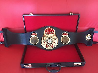 Exact 2015 WBA Super Champion Boxing Belt Replica - WBA, IBF, WBO, IBO, WBU