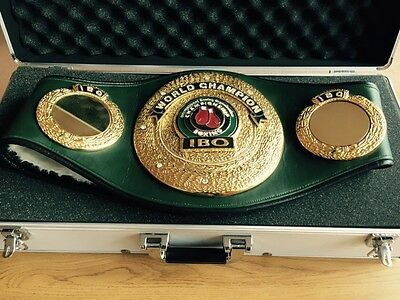 IBO World Champion boxing belt exact replica-also selling IBF,WBA,WBU