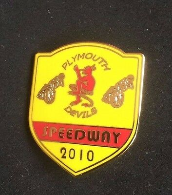 Speedway badge Plymouth 2010