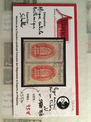 Internal Postage British Central Africa One Penny Stamp 1898