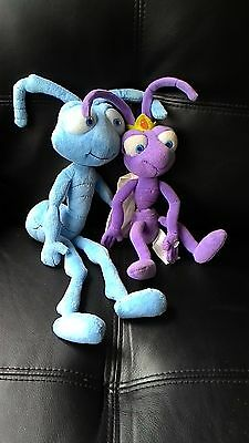"Bugs Life Soft Toy x2 16"" & 11"" Approx Good Condition"