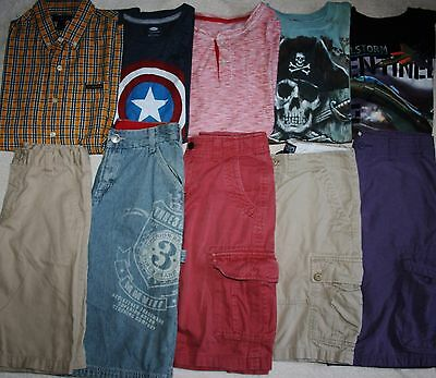 Boys Size 12 Summer Clothing Lot Of 10 Pieces