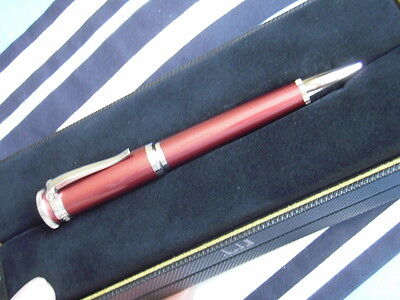 Dunhill Sentryman pen, Ball point, Burgundy metallic, New.
