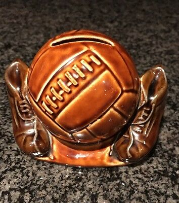 A Szeiler Football and Boots Money Box