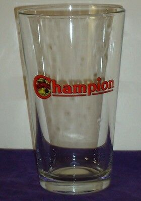 CHAMPION SPARK PLUGS pint Beer Glass (#1)