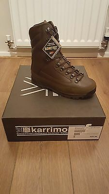 9M Karrimor SF Cold Weather Brown Leather Men's Combat Boot