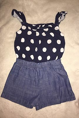 Girls Next Playsuit Size 18-24 Months