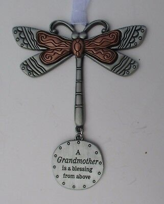q A grandmother is blessing from above DRAGONFLY Let your Spirit Soar ORNAMENT