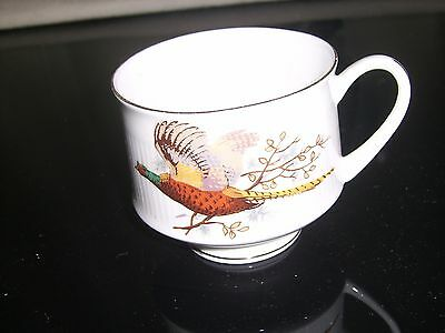 Royal Stafford-'Pheasant' set of 6 tea cups