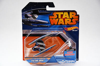 Hot Wheels Star Wars Starship Vulture Droid Die-Cast Vehicle - New
