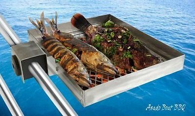 Asado Grill Stainless Boat BBQ for Instant BBQs