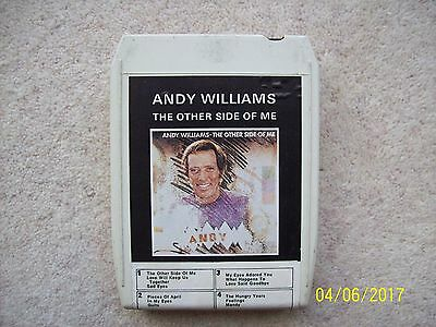 andy williams  8- track tape cartridge