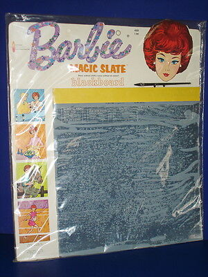 Sealed BARBIE MAGIC SLATE BLACKBOARD Mattel Lic. 1963 Watkins Strathmore UNUSED!
