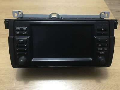 Bmw Sat Nav Navigation Widescreen Monitor Screen Cd Version 3 Series E46 M3 330