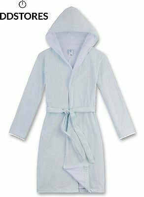 Sanetta 243859, Peignoir Fille, Blau Light Blue 50227 , 116 cm