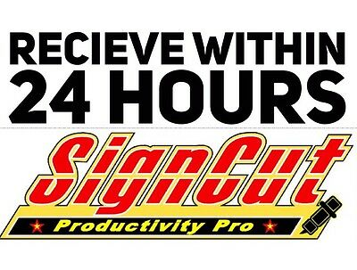 Signcut Pro Software Annual Subscription Key   Receive Within 24 Hours