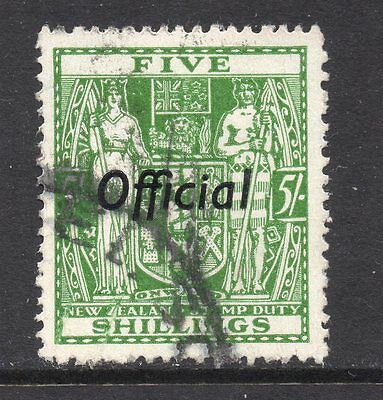New Zealand SC #O91 used Official Stamp