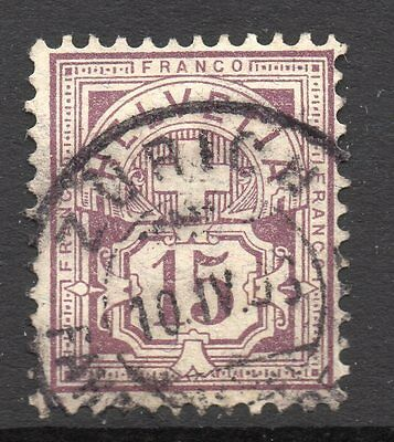 Switzerland SC # 76 VF used - Numeral Issue