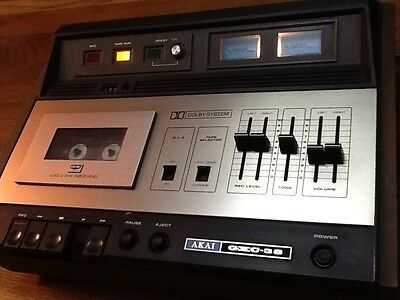 Vintage  Akai GXC38 Cassette Player / Recorder.1970s