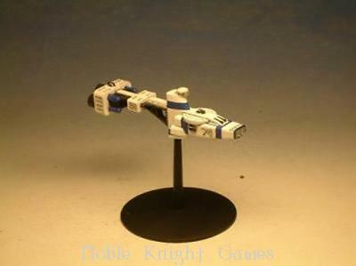 Mongoose Babylon 5 Call to Arms Earth Mini Hyperion Assault Cruiser Pack MINT