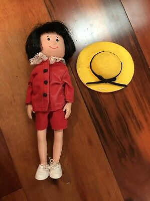 """1998 Pepito Danielle 8"""" Doll Madeline's Friend By Eden Toys Vintage"""