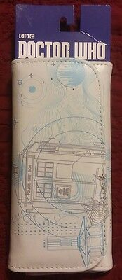 "Doctor Who Purse - Embossed Women'S Wallet - Tardis Design 6.5"" X 3.5"""
