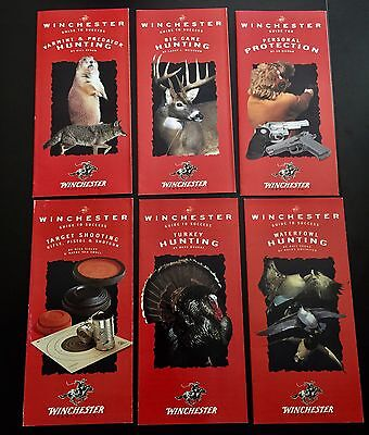 6 Vintage Winchester Guide to Success Brochures Full Set