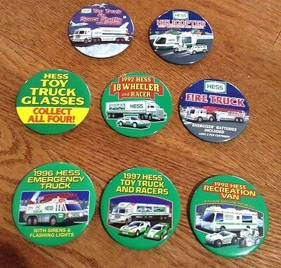 8 Unique Hess Toy Truck Buttons