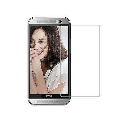 9H Geninue Tempered Glass Screen Protector Film Guard Case Cover For HTC Models