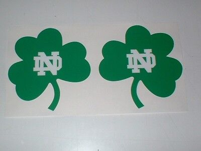 Ncaa Notre Dame Fighting Irish Full Size Football Helmet Decals