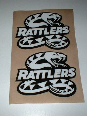 Afl Arizona Rattlers Full Size Football Helmet Decals
