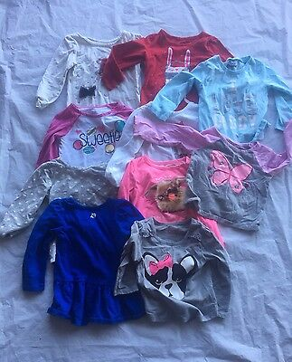 24 month girl clothes lot 14 pieces