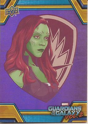 2017 Walmart Upper Deck Guardians of the Galaxy Vol. Volume 2 RB-17 Purple Foil