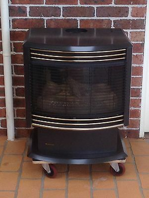 Rinnai Royale FS35 Natural Gas Flame Fire (Heater)