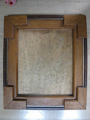 Antique Mission Arts And Crafts Oak Picture Frame