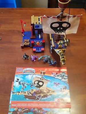 Mega Bloks - Skylanders Giants 95442 - Pirate Ship  - Crusher's Pirate (2 in 1)