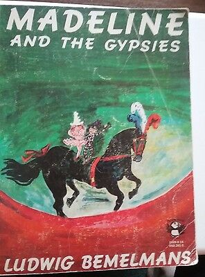 Madeline and the Gypsies by Ludwig Bemelmans Vintage Soft Cover Book