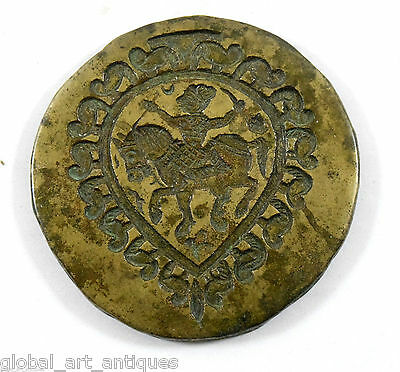 Vintage Beautiful Designs Bronze God/Goddess Jewellery Dye/Seal/Stamp. G46-159