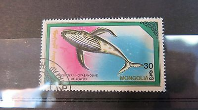 1990 Mongolia Stamp Whales