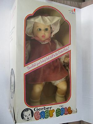 "Atlanta Novelty 17"" Gerber Baby Vinyl/Cloth Doll MIB 1979"