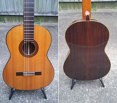 Unknown 70's Japanese Made Solid Top Classical Guitar with Hard Case